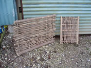 Willow crafts and hurdle production